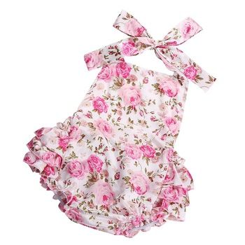Ruffled Kids Lace Girl Bubble Baby Rompers,Newborn 2016 Party Princess Girl Roupa De Bebe,Toddler Photography Props Baby Clothes