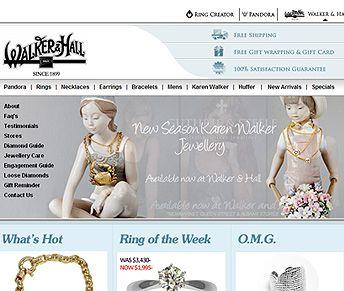 walker-website #ecommercewebsite design