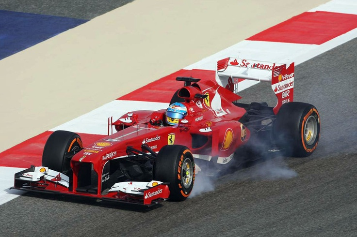 Fernando Alonso  GP Bahrain 2013