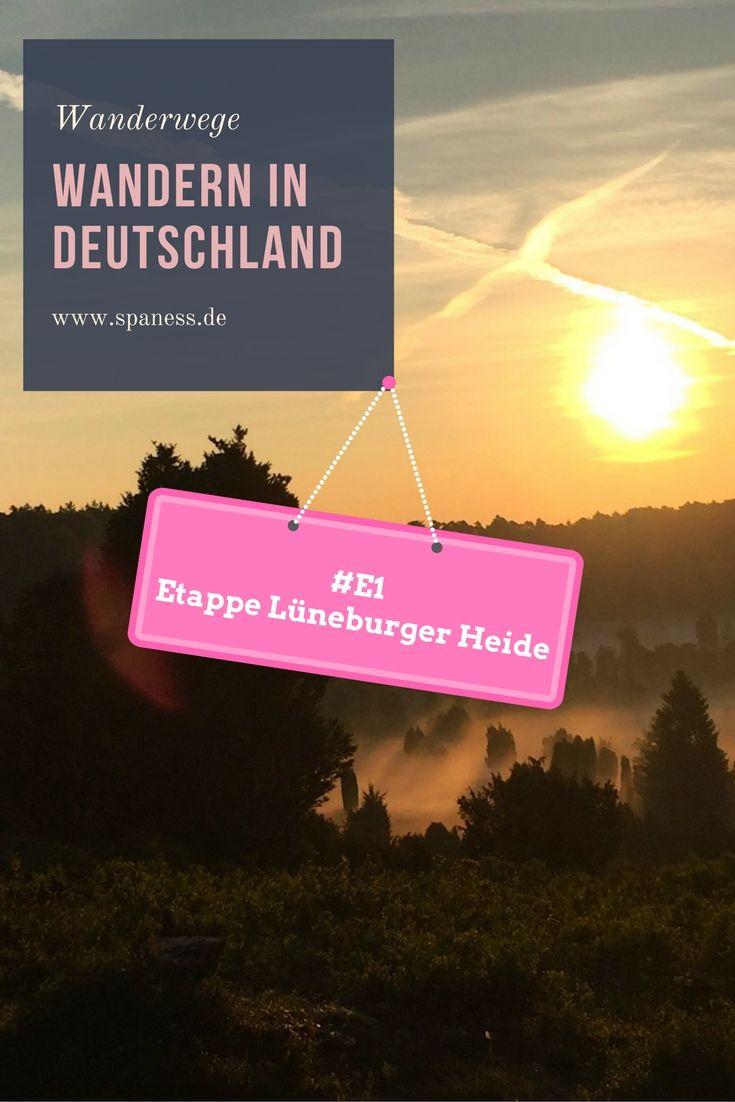 Wandern - Wanderroute E1 - Etappe Norddeutschland - Wandern Lüneburger Heide.