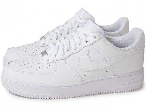Nike AIR FORCE 1 BLANCHE | Chaussures nike blanches, Chaussure ...