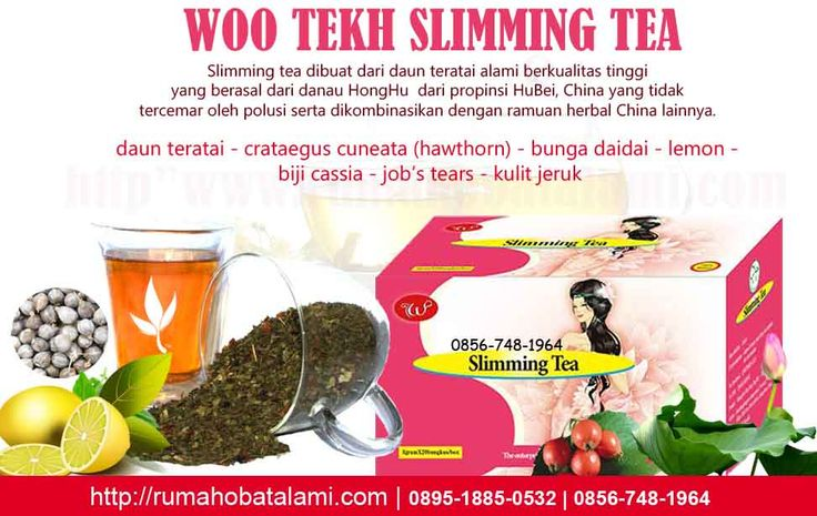 slimming tea pelangsing
