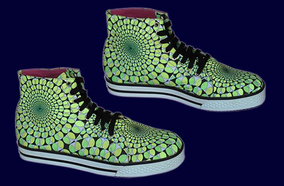 SpaceTribe Allstars  : Lime Dynamo http://www.spacetribe.com/shop/accessories-footwear-c-158_287.html