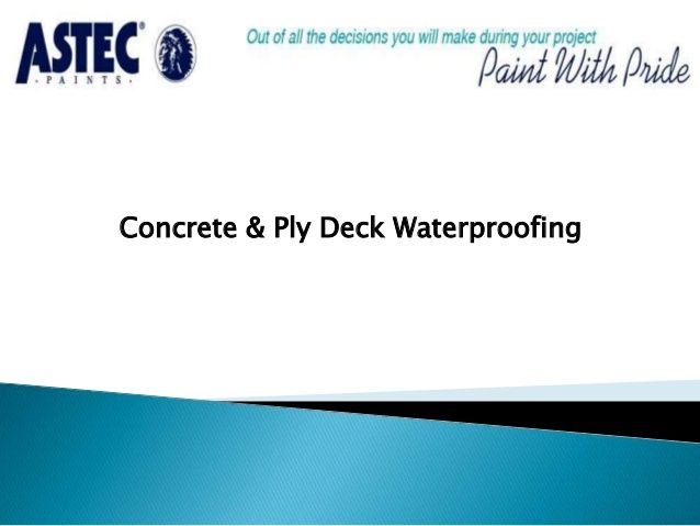 Astec waterproofing membrane systems are based around unique internally plasticized membrane technology, available as fast setting single component materials for spray or hand application.