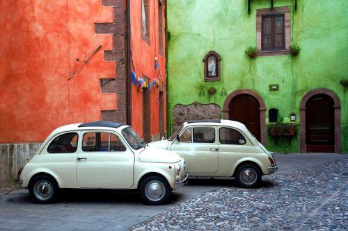 Fiat 500 Sardegna Bosa #TuscanyAgriturismoGiratola