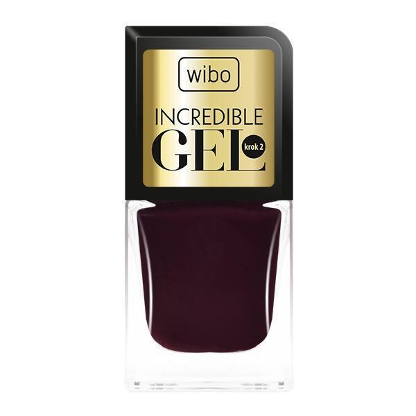Lakier Incredible Gel nr 1  - lakier żelowy nakładamy jako drugą warstwę w celu uzyskania super trwałego manicure, bez użycia profesjonalnej lampy UV/LED. Nadaje intensywny kolor w najmodniejszych odcieniach sezonu.