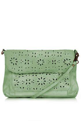 Leather Daisy Crossbody Bag 40