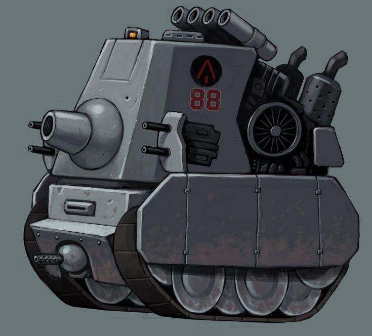 Cartoon Tank - 3DTotal Forums