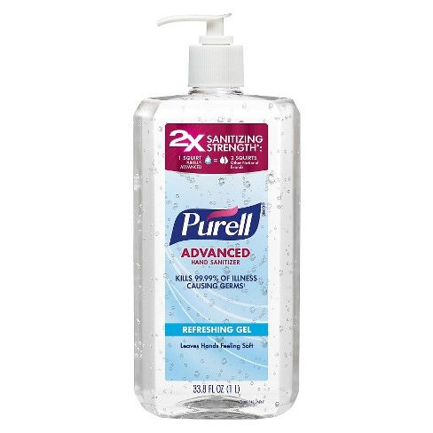 Purell Original Hand Sanitizer 1 Liter Target Hand Sanitizer