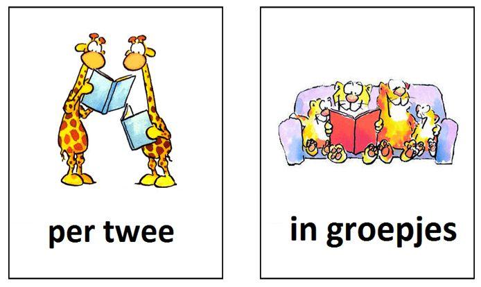 Gietjes Corner: Leespictogrammen | Zoiets zou tof zijn om in de dagplanning de werkvorm aan te geven: klassikaal - zelfstandig - tweetal - groepjes