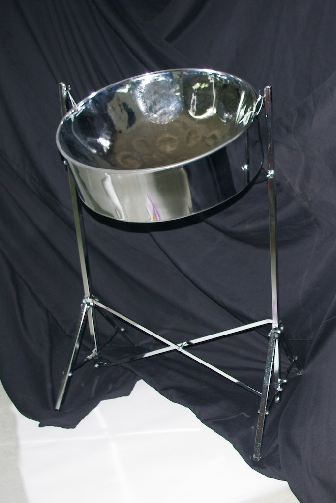 Learn to play the steel pan drum