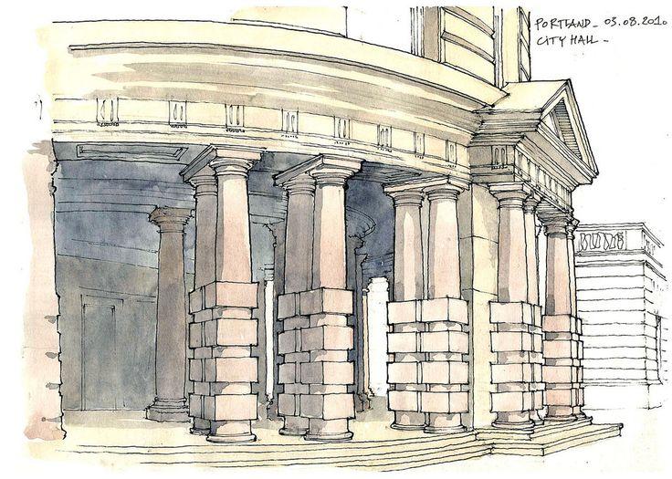 Portland, City Hall | por gerard michel