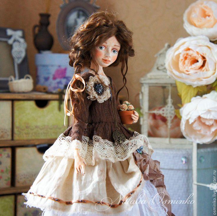 Купить Луиза - коллекционная кукла, кукла ручной работы, Будуарная кукла, авторская кукла