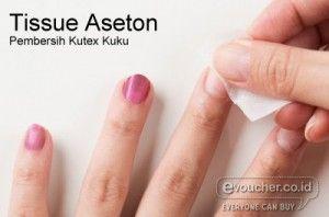 Kuku Kembali Bersih Dari Kutex Yang Berantakan Dengan Tissue Aseton Hanya Rp.69,000/paket  - www.evoucher.co.id #Promo #Diskon #Jual  klik > http://www.evoucher.co.id/deal/Tissue-Aseton-Pembersih-Kuteks  Ooops kuteks berantakan saat mengecat kukumu? Atau ingin mengganti dengan warna kuteks yang baru? Dont worry bersihkan kembali kukumu pada bagian kuteks yang berantakan atau kuku berkuteks warna lama dengan Tissue Aseton ini. 1 Paket berisi 6 pak Tissue Aseton  pengirim