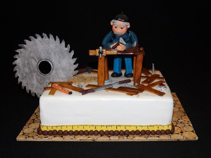 Carpenter cake with PipiCake Asztalos torta