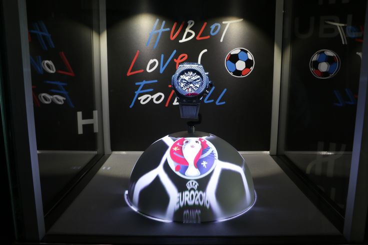 #Hublot magical #DisplayCase bring to life the atmosphere of the #EURO2016 >>>WATCH VIDEO>>>http://dietlin.ch/page.php?id=3110&gr=686&nv=5