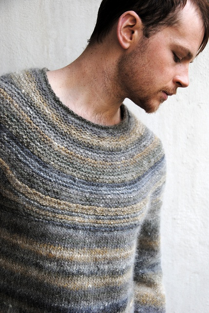 Men's Sweater--Stephen West | Westknits Pattern: Cobblestone by Jared Flood