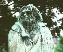 Rodin   - Balzac - Er staat een kopie van in het Middelheim in Antwerpen.