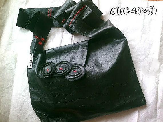 Leather Handmade Bag in several colours and by LeatherEugapan, €45.00