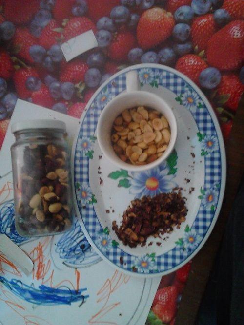 Hace un tiempo mi mujer y mi hijos empezaron a comer mantequilla de cacahuetes, es