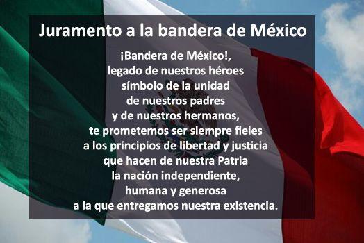 Juramento a la bandera de México