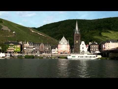 Bernkastel-Kues dans la Moselle en Allemagne