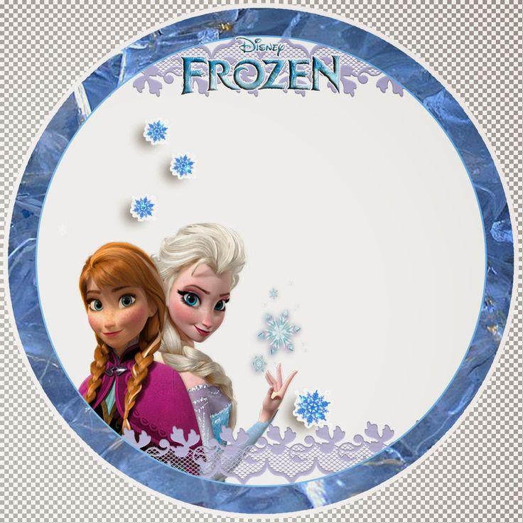 Dulce Alfabeto de Frozen.