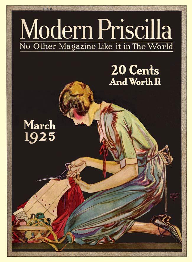 Modern Priscilla 1925