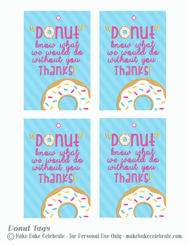 dunkin donuts gift card teacher tags - Google Search | Gift Ideas ...