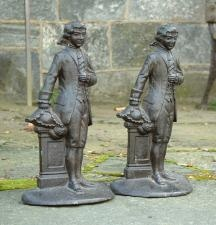 Antiques U0026 Vintage Price Guide Of Antique Pair Of Cast Iron French Door  Stops