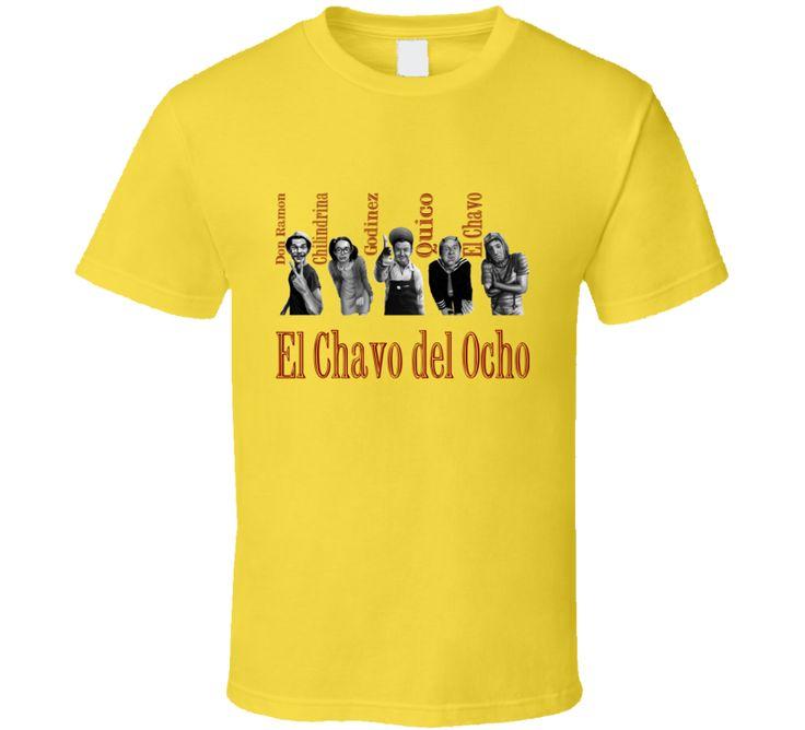 El Chavo Del Ocho Don Ramon La Chilndrina Godinez Quico T Shirt