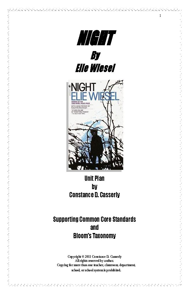 Printable Worksheets night elie wiesel worksheets : 83 best Term I--ninth grade English images on Pinterest | Gym ...