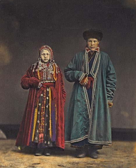 Исторические особенности башкирского народного костюма