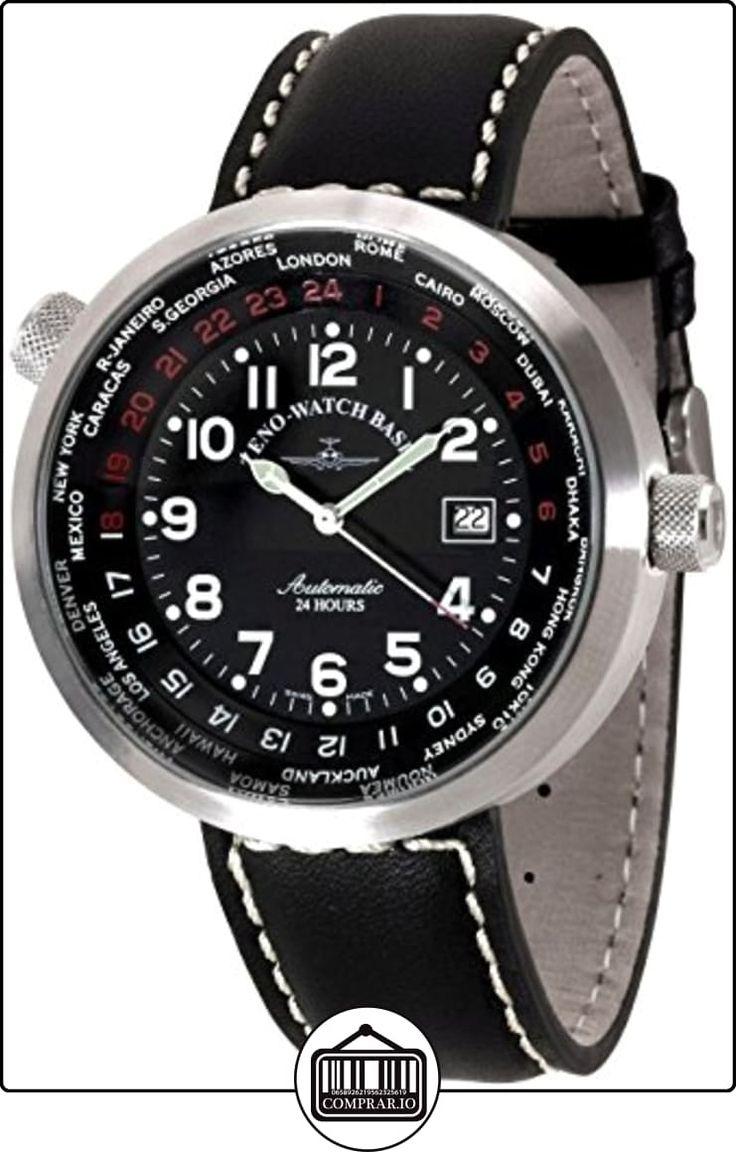 Zeno-Watch Reloj Mujer - Rondo World timer - B552-a1 de  ✿ Relojes para hombre - (Lujo) ✿