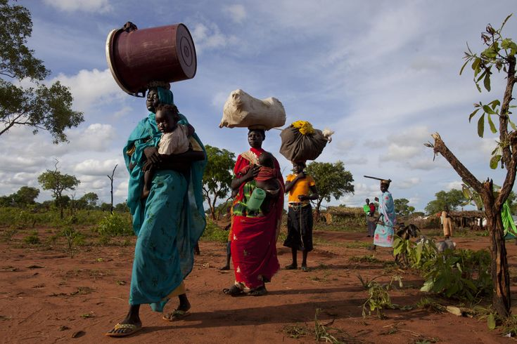 Sudan's refugee camp Yida had exceeded 64 000 people that was July 2nd 2012