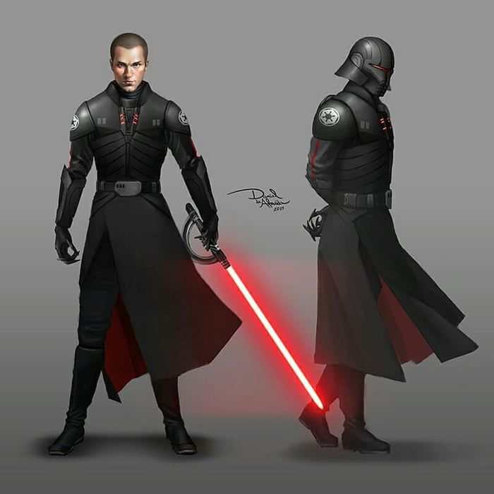 Starkiller as an Inquisitor, The First Brother by Daniel de Almeida in 2020  | Star wars outfits, Star wars images, Star wars jedi