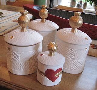 Swedish Craft - Gubben. Roland & Marianne Fällman. Krympburkar