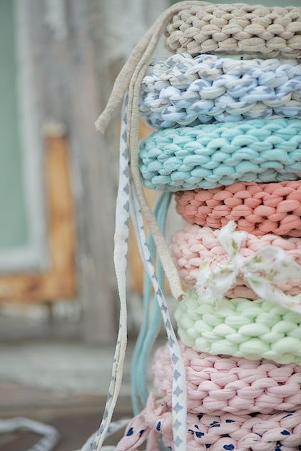 Knit bangle DIY, Anleitung für einen gestrickten Armreif