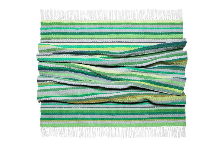 """woven carpet """"Forest Song""""   #path #green #color #strip"""