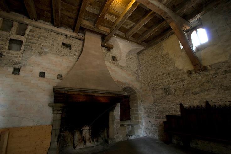 Image Detail For Medieval Fireplace Quot Castle Chillon