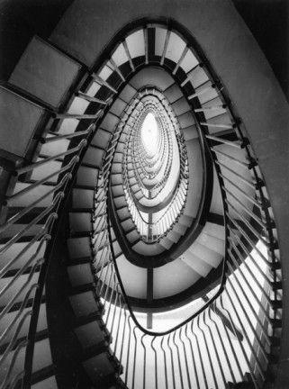 Oscar Savio. Albini Franco_Helg Franca_La Rinascente (Scala interna)_Piazza FIume,Roma_1957-61