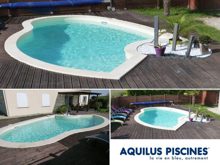 1000 images about piscines aquilus formes insolites on. Black Bedroom Furniture Sets. Home Design Ideas