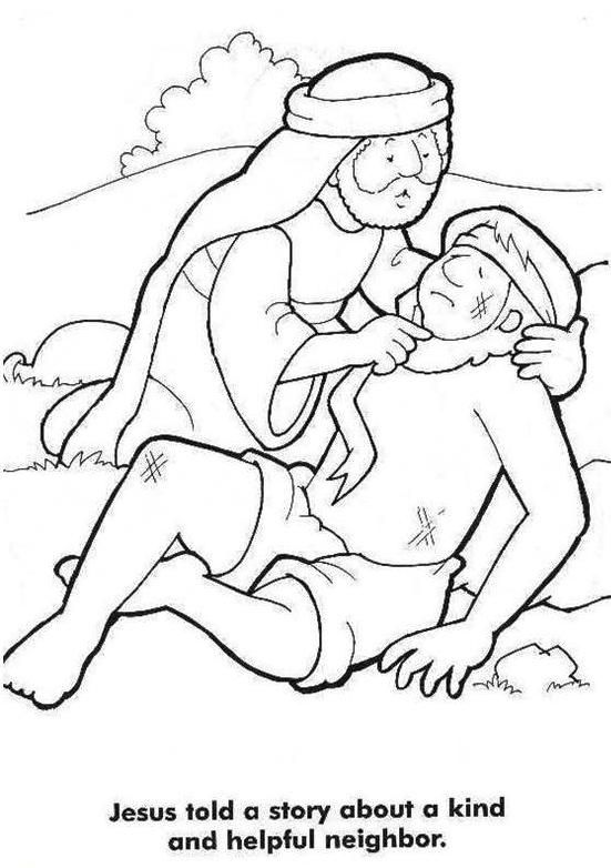the good samaritan helping hands craft trace hands decorate with chores kids can help with hole punch and connect with yarn - The Good Samaritan Coloring Pages