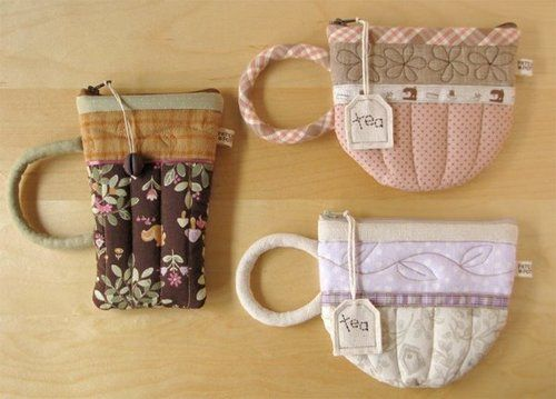 DIY: Quilted Mug Pouches