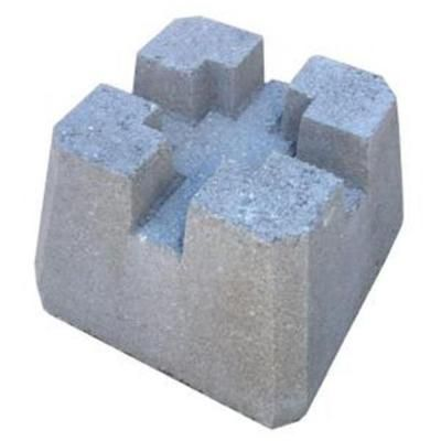 8 In X 8 In X 8 In Concrete Deck Block 55n1an The