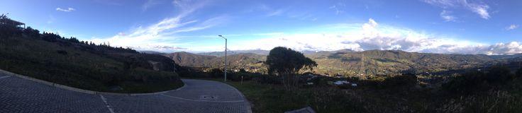 Panoramica desde lote 74