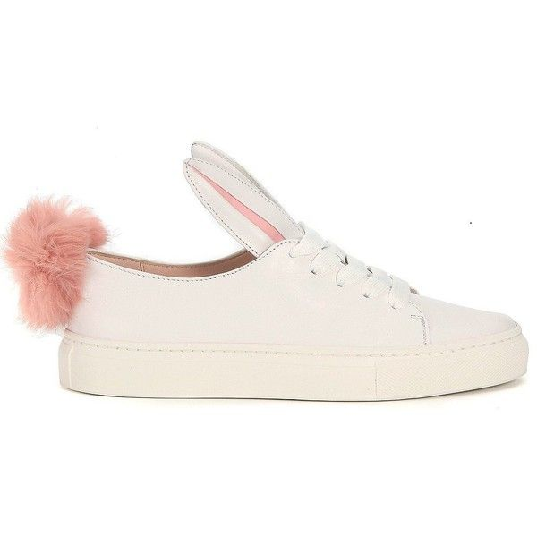 Minna Parikka Sneakers (€238) ❤ liked on Polyvore featuring shoes, sneakers, bianco, minna parikka, minna parikka shoes and bunny shoes