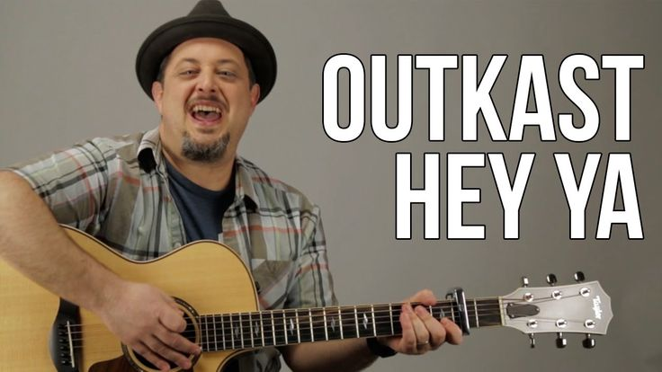 how to play hey ya on acoustic guitar