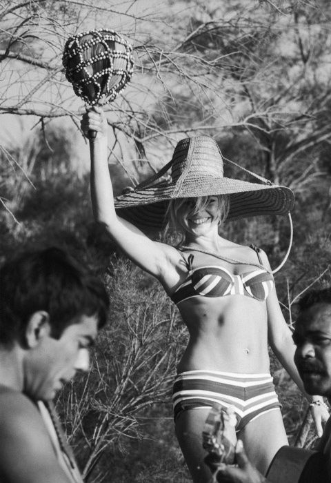 summer, bridget bardot, bikini, 60s, beach