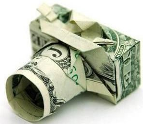 How to make an origami (money origami) dollar bill digital camera!